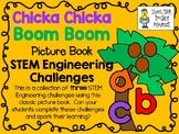 STEM Engineering Challenge Pack ~ Chicka Chicka Boom Boom ~ Set of 3 Challenges