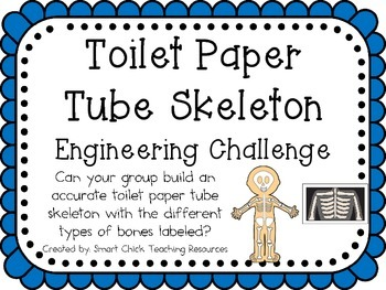 STEM Engineering Challenge Pack ~ Human Body Challenges ~ Set of Five!