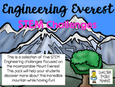 STEM Engineering Challenge Pack ~ Mount Everest