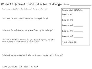 STEM Engineering Challenge Pack ~ Simple Machines