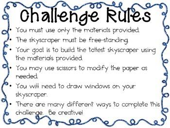 STEM Engineering Challenge Pack ~ Superhero Challenges ~ Set of Five!