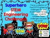 STEM Engineering Challenge Pack ~ Superhero Challenges ~ S