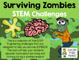 STEM Engineering Challenge Pack ~ Surviving Zombies! ~ Set of 5 Challenges