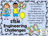 STEM Engineering Challenge Pack ~ The 100th Day of School