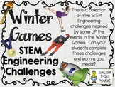 STEM Engineering Challenge Pack ~ Winning the Winter Sports Challenges