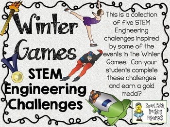 STEM Engineering Challenge Pack ~ Winning the Winter Sports Challenges