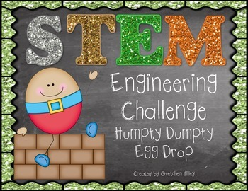 STEM Engineering Challenge Humpty Dumpty Egg Drop