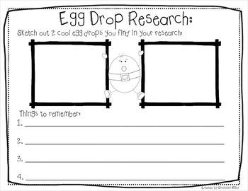 STEM Engineering Challenge Humpty Dumpty Egg Drop