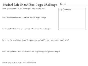 If I Ran the Zoo STEM ~ STEM Engineering Challenge Picture Book Pack ~ Set of 5!