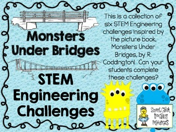 STEM Engineering Challenge Picture Book Pack ~ Monsters Un
