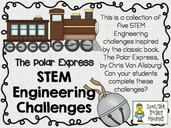 STEM Engineering Challenge Picture Book Pack ~ The Polar Express