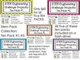 STEM Engineering Challenge Projects ~ First FIVE TEN PACKS