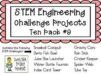 STEM Engineering Challenge Projects ~ TEN PACK #9