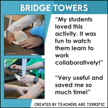 STEM Activity Challenge Bridges and Towers