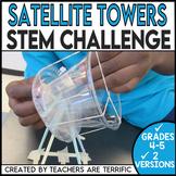 STEM Challenge Satellite Dish Towers