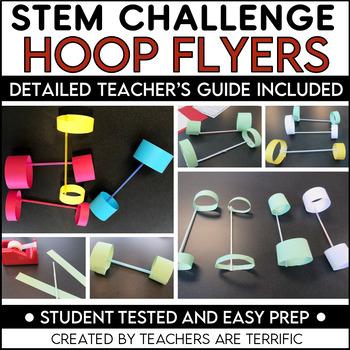 STEM Activity Challenge: Hoop Flyers