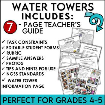 STEM Engineering Challenge Water Towers