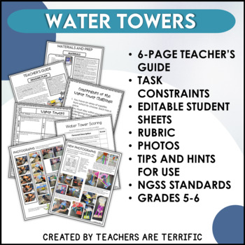 STEM Challenge Water Towers