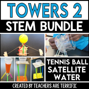STEM Engineering Challenge Towers Bundle 2
