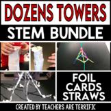 STEM Challenge Bundle Towers with Easy Materials
