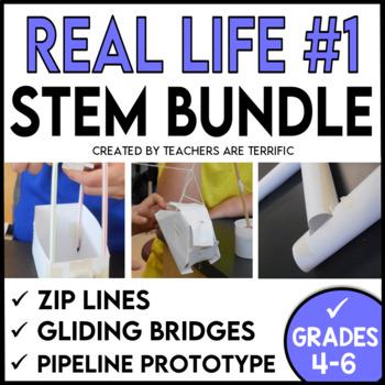 STEM Activities Challenge Bundle of Real Life Models