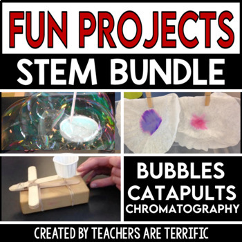 STEM Activities Challenge Bundle All About Fun!