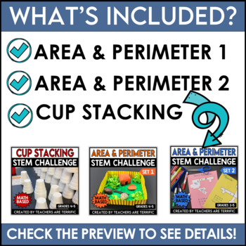 STEM Activities Challenge Bundle featuring Math Skills