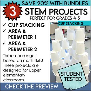 STEM Challenges Math Skills Bundle