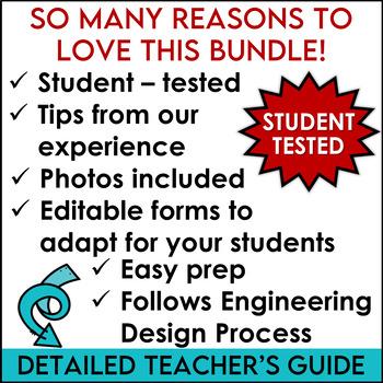 STEM Challenges Same Supplies Two Tasks Bundle