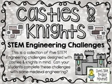 STEM Engineering Challenges Pack ~ Castles & Knights ~ Set of Five!