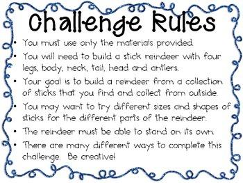 Christmas STEM ~ STEM Engineering Challenges Pack ~ Set of Five!
