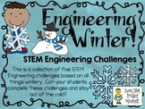 STEM Engineering Challenges Pack ~ Engineering Winter ~ Se