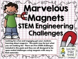 STEM Engineering Challenges Pack ~ Marvelous Magnets~ Set of Five!