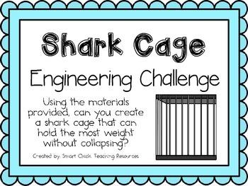STEM Engineering Challenges Pack ~ Sensational Sharks ~ Set of Five!