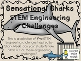STEM Engineering Challenges Pack ~ Sensational Sharks ~ Set of Five!