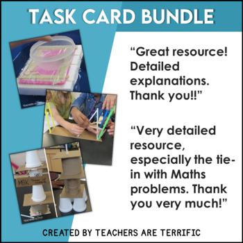 STEM Challenge Bundle featuring Task Cards