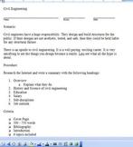 STEM Engineering - Civil Engineering Research Paper