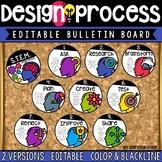 STEM Engineering Design Process / Design Thinking Editable