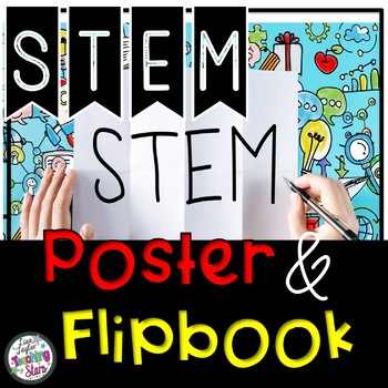 STEM Engineering Design Process Flipbook and Poster