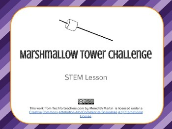 STEM - Engineering - Marshmallow Tower Challenge