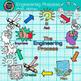 STEM Engineering Process Clip Art {STEAM Science Graphics for Activities} 2