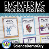 STEM Engineering Process Posters - FREE!!!