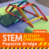 STEM Engineering Project: Building a Popsicle Bridge {Middle School}