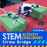 STEM Engineering Project: Building a Straw Bridge {3rd, 4th & 5th Grade}