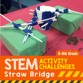 STEM Engineering Project: Building a Straw Bridge {Middle School}