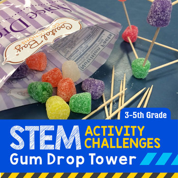 STEM Engineering Project: Gumdrop Tower {3rd, 4th & 5th Grade}