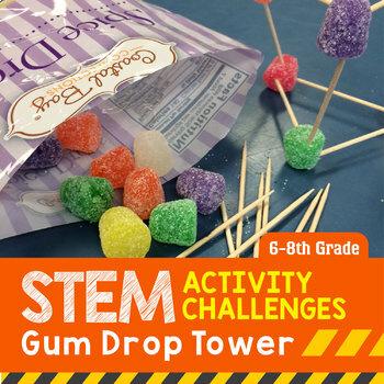 STEM Engineering Project: Gumdrop Tower {Middle School}