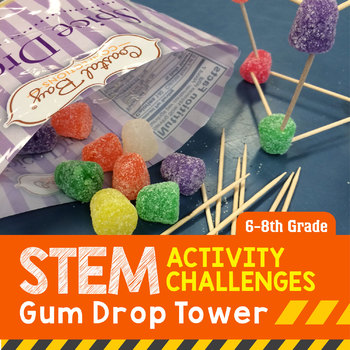 STEM Engineering Project: Gumdrop Tower {Middle School}