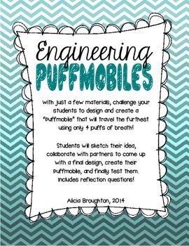 STEM: Engineering Puffmobiles