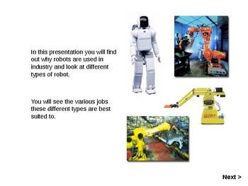 STEM Engineering Types Of Robots